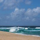 Summer in Hawaii - Banzai Pipeline Beach by Georgia Mizuleva