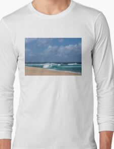 Summer in Hawaii - Banzai Pipeline Beach Long Sleeve T-Shirt