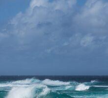 Summer in Hawaii - Banzai Pipeline Beach Sticker