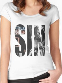 Cold Beer Women's Fitted Scoop T-Shirt