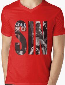 Cold Beer Mens V-Neck T-Shirt
