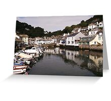 A Fishing Village in Cornwall Greeting Card