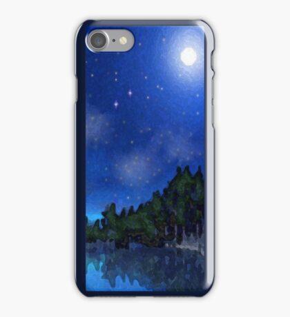 Lake at Night  iPhone Case/Skin