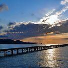 Sunrise,Alcudia,Majorca by Jim Wilson