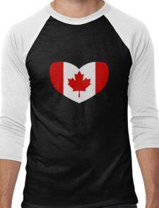 Love Canada Men's Baseball ¾ T-Shirt