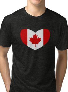 Love Canada Tri-blend T-Shirt