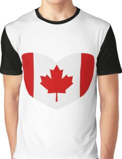 Love Canada Graphic T-Shirt