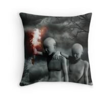 Moonriver. Throw Pillow