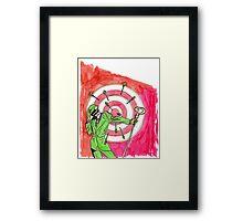The Riddler Framed Print