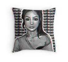 jhene aiko // stay ready Throw Pillow