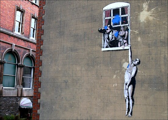 Banksy's a Blast! by paintingsheep