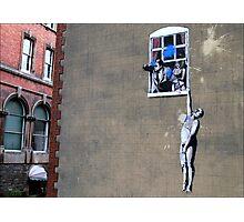 Banksy's a Blast! Photographic Print