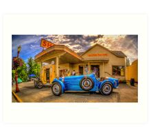 Bugatti 1927 Art Print