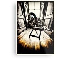 The Spinning Wheel Metal Print