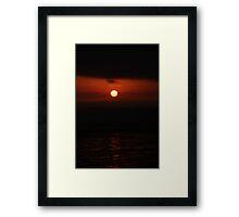 SoCal Sunset Framed Print