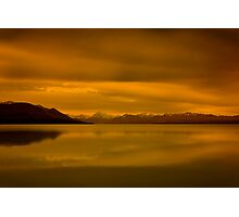 New Zealand Sunset Photographic Print