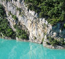 Turquoise Blue Water by solena432