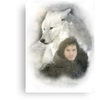 John Snow Canvas Print