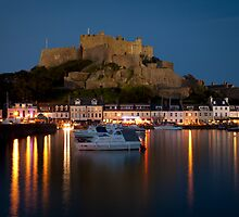 Gorey Harbour, Jersey by paulwhittle