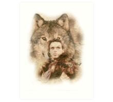 The Young Wolf Art Print