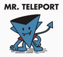 Mr. Teleport by zacly
