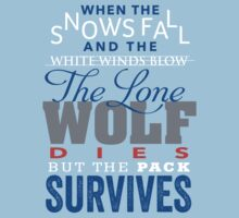 The Lone Wolf by JenSnow