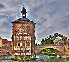 Bamberg Old Town Hall or Altes Rathaus by paolo1955