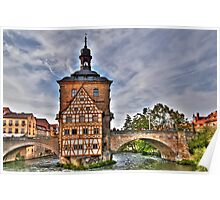 Bamberg Old Town Hall or Altes Rathaus Poster