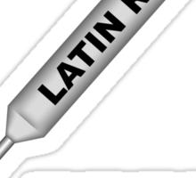 Latin Rap 1B Sticker