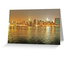 NYC from LIC Greeting Card