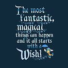 Jiminy Cricket It all starts with a wish by sweetsisters