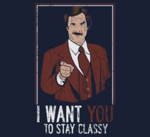 I want you to stay Classy by piercek26