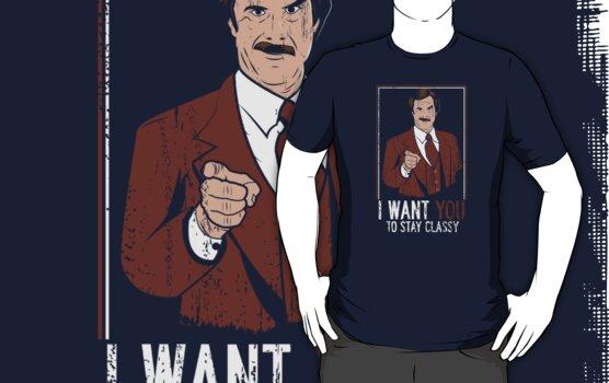 I want you to stay Classy by piercek26