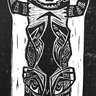 Bear Skull Totem by craftyhag