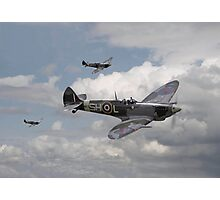 Spitfire - On Patrol Photographic Print