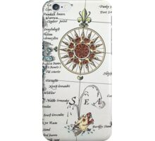 Sea / Compass iPhone Case/Skin