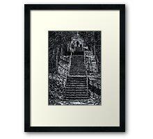 Ravine Walkers Framed Print