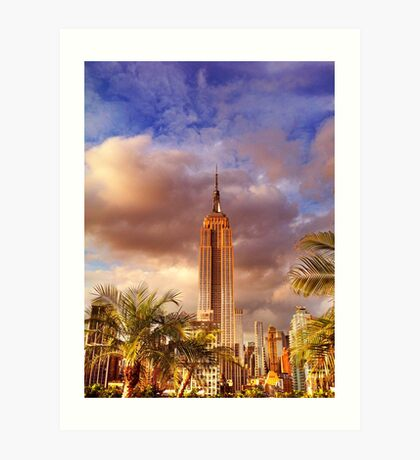 NYC - Empire State Building Art Print