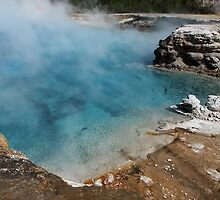 Excelsior Geyser Crater ~ Yellowstone National Park by Jan  Tribe