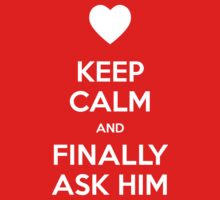 Keep calm and finally ask him by moombax