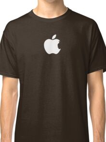 Apple Batman White Classic T-Shirt