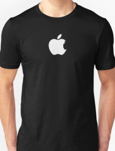 Apple Batman White Unisex T-Shirt