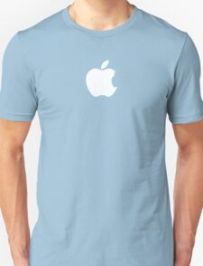 Apple Batman White Unisex T-Shirt