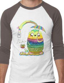 Adventure Time Rainbow Men's Baseball ¾ T-Shirt
