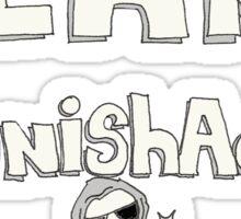 team #PunishAdonk Sticker