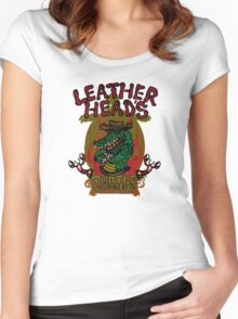 Leatherhead's Turtle Gumbo Women's Fitted Scoop T-Shirt
