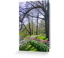 Keukenhof Park. Greeting Card