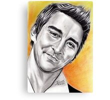 Lee Pace, so sweet Canvas Print