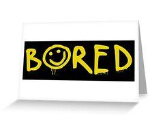 Sherlock - Bored! Greeting Card