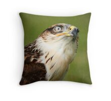 Red-tailed Hawk I Throw Pillow